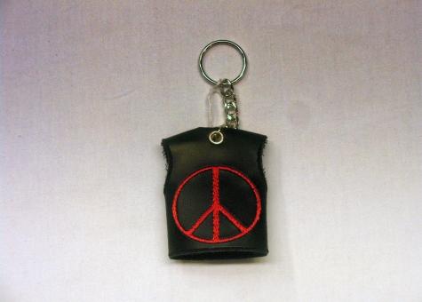 Portachiavi Peace&Love