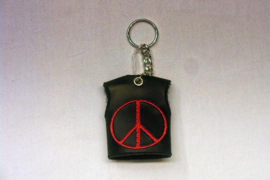 Accessori moto: Portachiavi Peace&Love