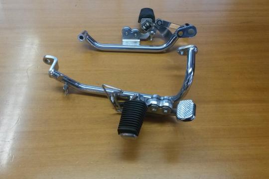 Accessori moto: pedane originali per xvs 535