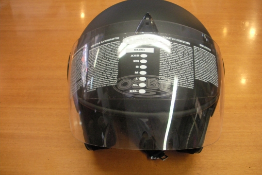 Accessori moto: OSBE Falcon nero