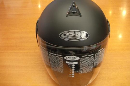 Accessori moto: OSBE Falcon nero