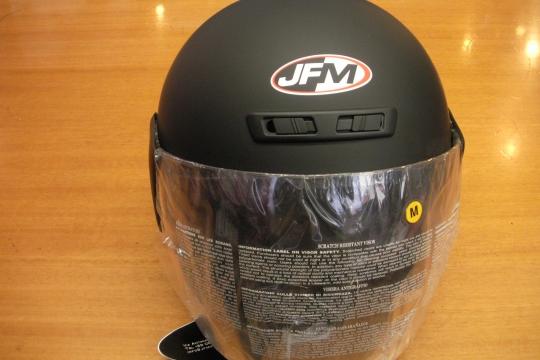 Accessori moto: JFM nero opaco