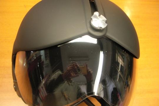 Accessori moto: OSBE Tornado nero opaco