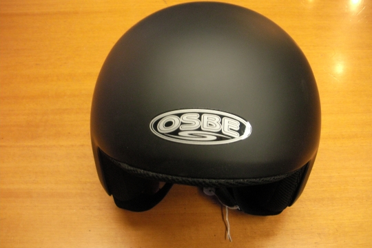 Accessori moto: OSBE jet nero opaco