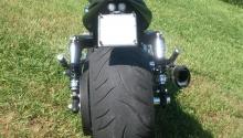 gomma posteriore da 300 mm