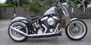 Customizzazione moto: Harley Davidson Softail Springer \'99