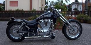 Customizzazione moto: Black Demon
