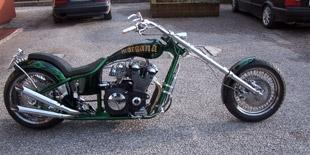 Customizzazione moto: Morgana