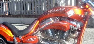 Moto custom e chopper: VERNICIATURA E AEROGRAFIA